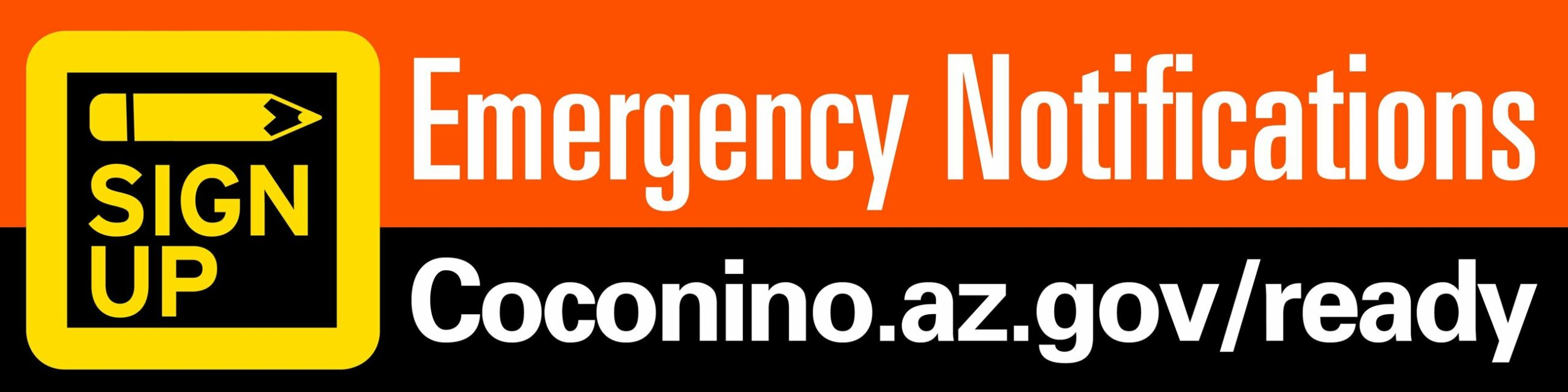 coconino county emergency notifications